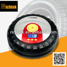 portable mini hot selling tire sealer & inflator, tire sealer & inflator Richtek RCP-B1