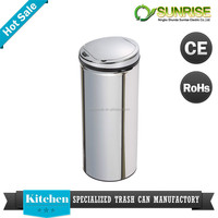Office container homes stainless steel dustbin