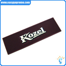 wholesale custom rubber soft pvc bar spill mat/service bar mat
