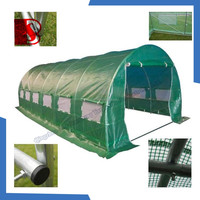 Green White Transparent PE Film Greenhouse