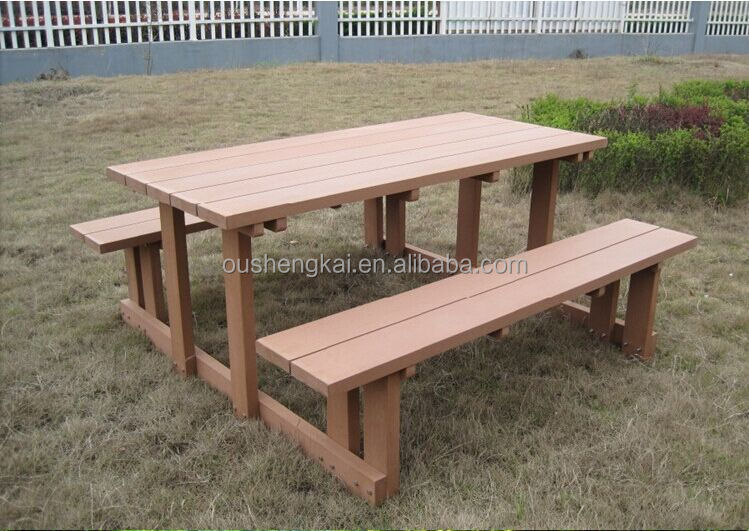 European style eco-friendy wpc benches outdoor garden benches and chiar