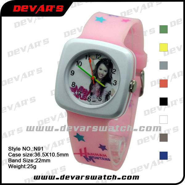 2013 colorful kids wrist waterproof watches relojes N91