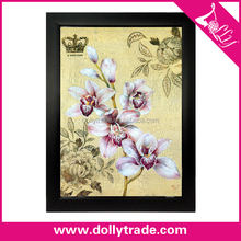 modern orchid flower art paintings on canvas