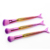 China Factory Cosmetics Tools High Quality 7pcs Purple Gold Colorful Mermaid Makeup Brush Set