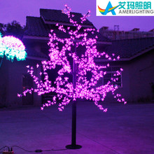 2014 new design 2m rgb led christmas branch lights with 960leds