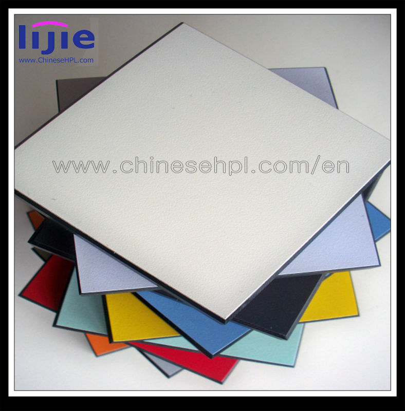 LIJIE decorative high pressure laminate/laminate shelf