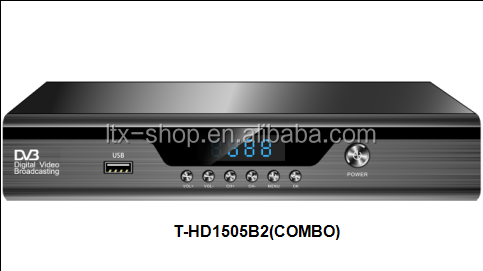 Factory Cheap Price Combo Receiver DVB-T2 DVB-S2 TV Decoders With Wifi