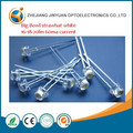 Big Bowl/Big Cup 4.8mm Strawhat LED White/Warmwhite LED/ 5mm Strawhat LED Diode/ Sombrero de paja blanco de 5mm de LED