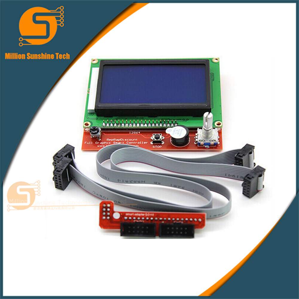3D printer kit RAMPS1.4 LCD12864 intelligent Smart Controller LCD 12864