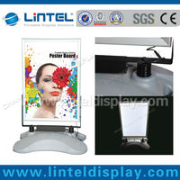 outdoor sign a1 poster stand with rechargeable battery LT-10J