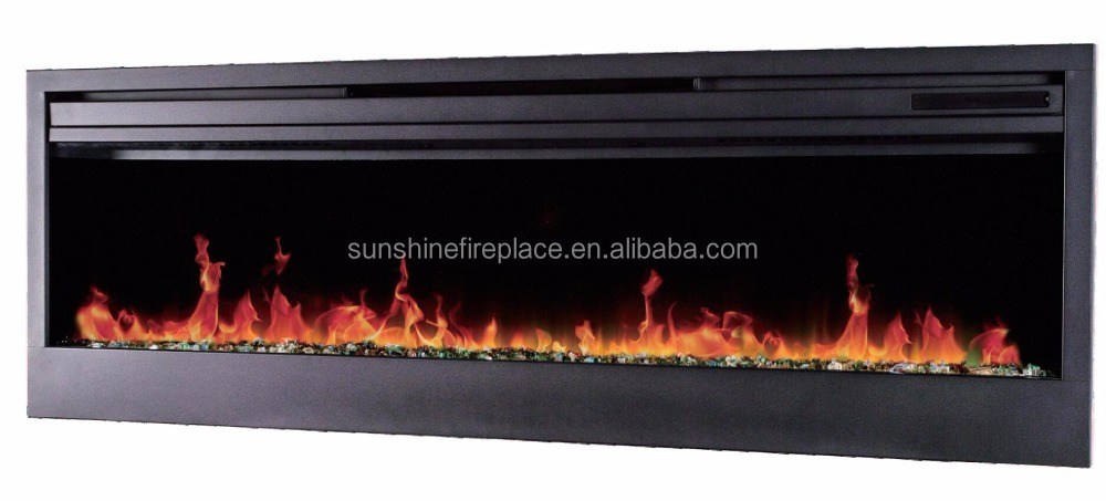 "58"" Wall Mounted Electric Fireplace For Lowes"