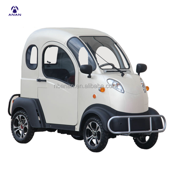 2.5KW 45km/h Four Wheel Smart Pasenager Adult I6E l7E Electric Classic Mini EEC Electric Car