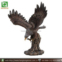 Classic Large Bronze Eagle Statue Flying