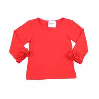 New latest design blank baby tank tops fashion autumn kids girls t shirt