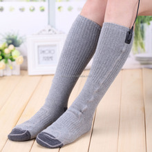 3.7V 2200Mah Rechargeable Li-on Battery Powered Heated Thermal Socks