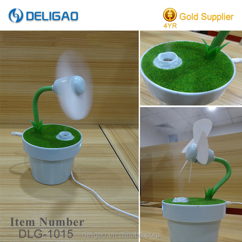 new product USB water air cooling fan,mini high velocity fan,water spray mist humidifier