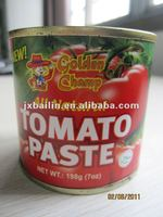 HOT!! 400g canned pasta de tomate brix 28-30, easy/normal open,