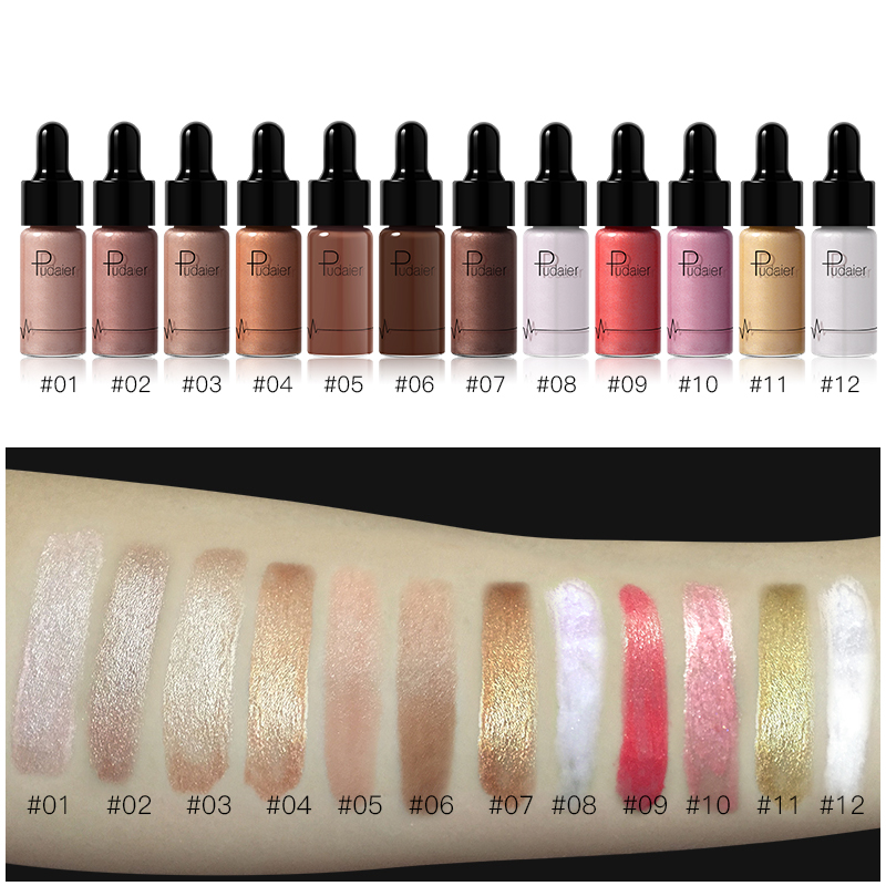 Liquid contouring makeup