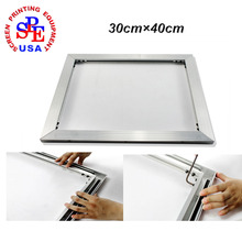inner size 30*40cm Brand New Self-tensioning Frame For Screen Printing Multi-Functional DIY screen printing equipment