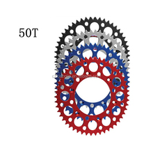 Colorful anodized motor sprocket for 150 - 250cc dirt bike Motorcycle