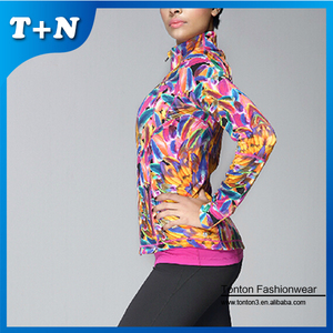 High quality trendy women pro thin sports yoga jackets