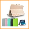Thin Silk Pattern Leather Smart Cover For iPad Air iPad 5 Case With Sleep Function