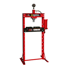 Torin BigRed(TM) 20T Pneumatic Hydraulic Shop Press with Gauge