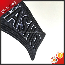 Wholesale Fashion Logo Custom Embroidery Arm Patches for Jackets