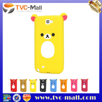 soft phone case for samsung galaxy note 2 n7100 rilakkuma case