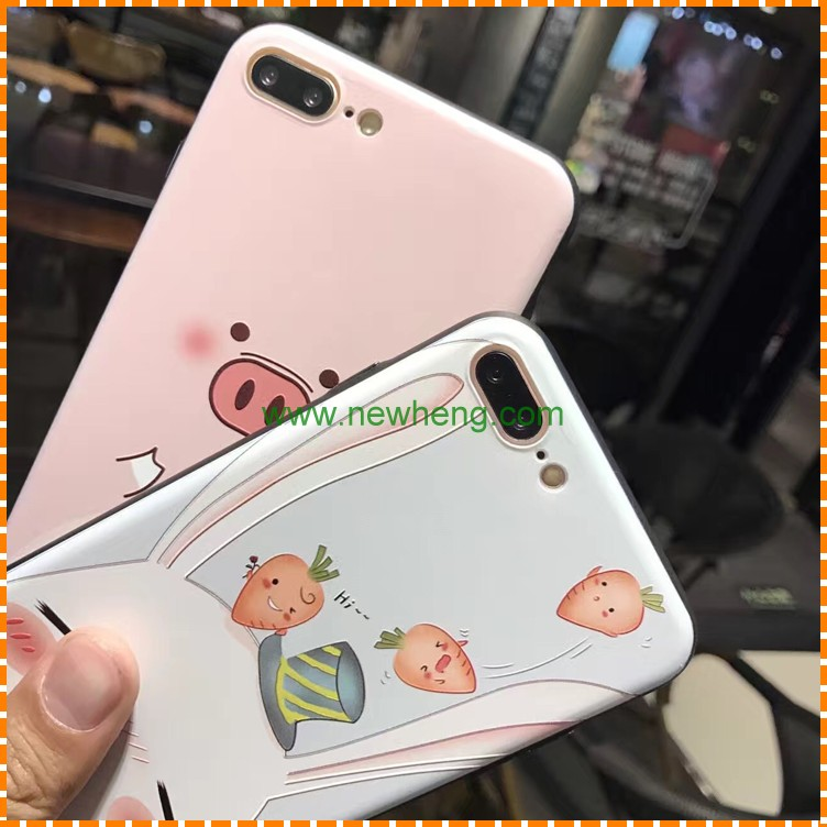 Custom 3d Silicone Phone Case Painted Soft Hard Case Painting Phone Case For iphone 5 SE 6 6plus 7 7plus 4.7 5.5inch