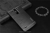 Metal Brushed Hard PC Back Phone Cases For LG LG G3 mini G3mini D722 D725 D728 D724 G3S