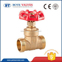 high efficiency butt weld stem water meter brass gate valve