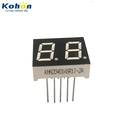 Hot selling 2 digit 0.40inch common anode red color LED seven segment display