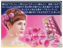 Peco Roll Soft Hair Roller Curlers silicone hair care-10 Roll -Brand New ROLL