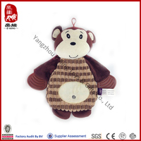 China wholesale plush dog toy bear shape bite unstuffed pet toy