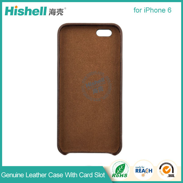 Unique design card solt PU leather Phone case for apple iphone 6