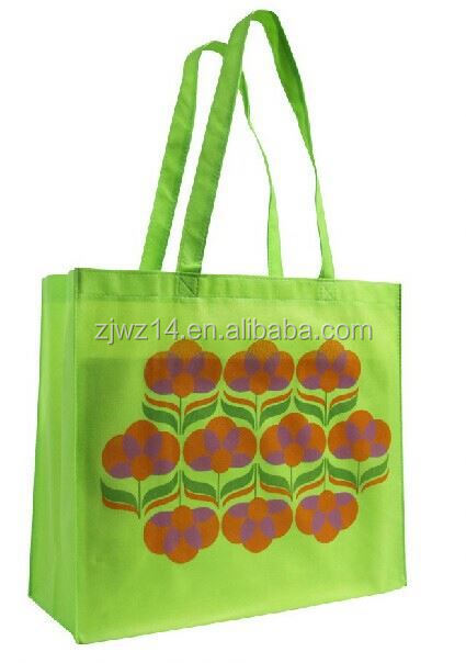 cheap fashion currency printing machine/ screen print non-woven bag/ recycle laminated non woven shopping bag