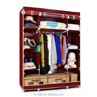 S7 portable bedroom closet wardrobe cabinets storage closet organizers folding wardrobe ikea turkish bedroom furniture prices