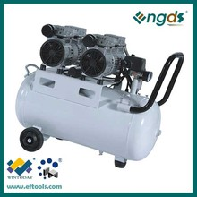 1.5HP 1.1KW 50L high quality oil free air compressor