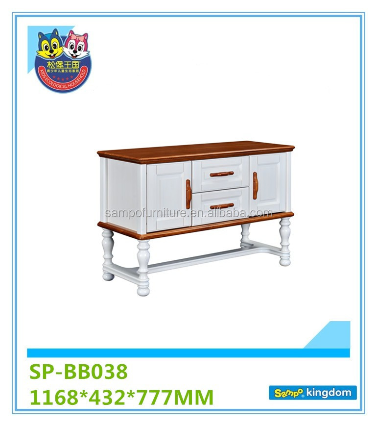 Foshan 2-door and 2-drawer Chest cabinet#SP-BB038