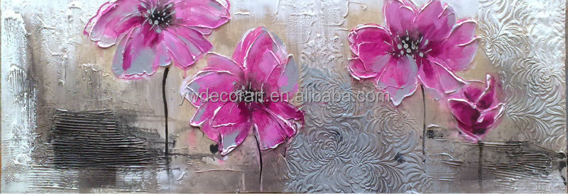 2015 new design single flower painting