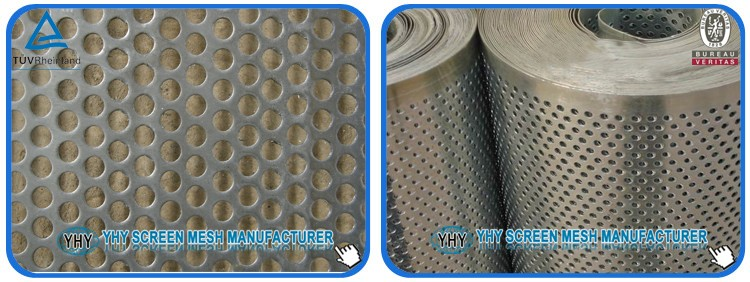 high quality 65Mn steel 4.5mm stone crusher screen mesh/vibrating screen for quarry