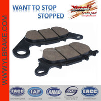 High Performance Front brake pad for JUPITER MX/MIO NEW/SNIPER 135/LC 135/YAMAHA- XC 125 Vity/YBR 125 Custom,motorcycles part