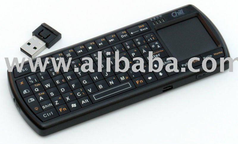 Chill Wireless Bluetooth 3.0 Micro Keyboard with Touchpad