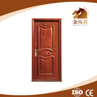 Modern Fancy Mahogany Exterior Hand Carved Solid Wood Door Price