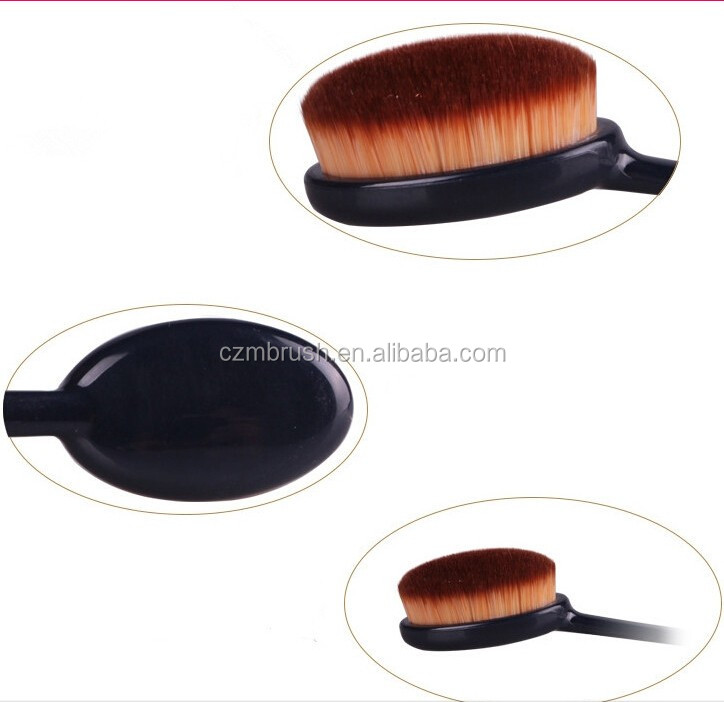 Make up Brush Factory Provide Toothbrush Shape Make up Brush With Cheap Price