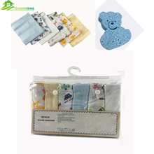 Wholesale Cotton Gauze Towel Face Cloth Baby Muslin Face Washing Cloth Muslin Face Cloth