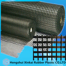 warp knitted polyester geogrid for soil reinforcement 30-30KN/M