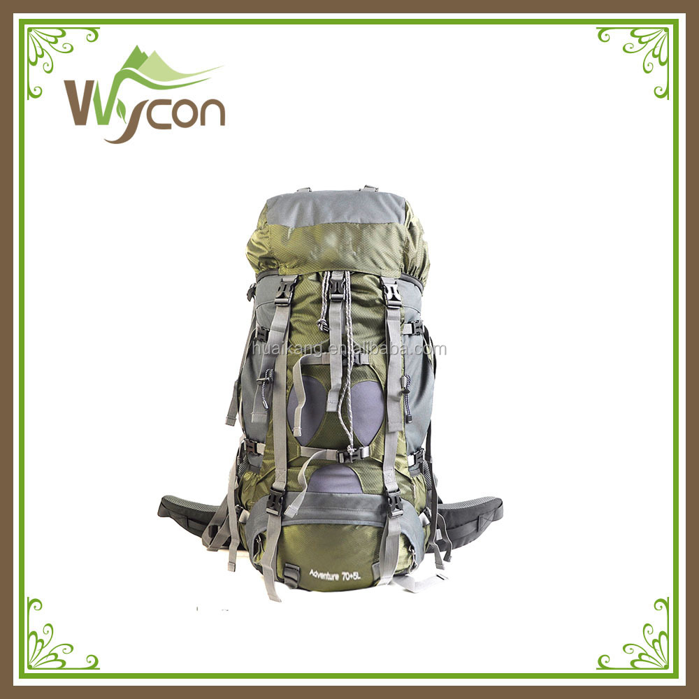 Hiking backpack super capacity 75L anti theft and portablility