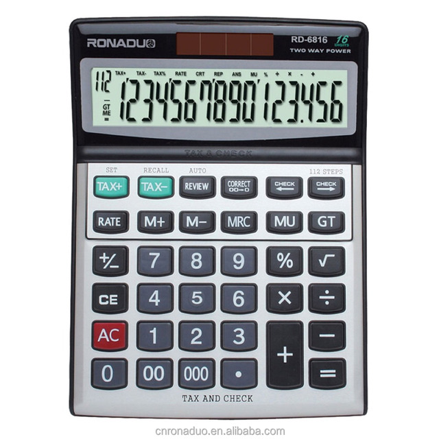electronic business card holder calculator online 16 digits calculator solar big size calculator